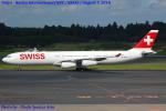 Chofu Spotter Ariaさんが、成田国際空港で撮影したスイスインターナショナルエアラインズ A340-313Xの航空フォト(飛行機 写真・画像)