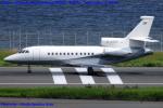 Chofu Spotter Ariaさんが、羽田空港で撮影したドイツ個人所有 Falcon 900EXの航空フォト(写真)