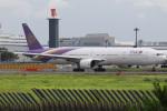 チャッピー・シミズさんが、成田国際空港で撮影したタイ国際航空 777-3D7の航空フォト(写真)