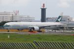チャッピー・シミズさんが、成田国際空港で撮影したキャセイパシフィック航空 777-367の航空フォト(写真)