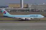 Scotchさんが、羽田空港で撮影した大韓航空 747-4B5の航空フォト(写真)