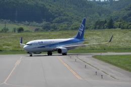 くーぺいさんが、紋別空港で撮影した全日空 737-881の航空フォト(飛行機 写真・画像)