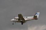 kumagorouさんが、仙台空港で撮影した日本法人所有 58 Baronの航空フォト(飛行機 写真・画像)
