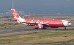 セブンさんが、関西国際空港で撮影したエアアジア・エックス A330-343Xの航空フォト(飛行機 写真・画像)