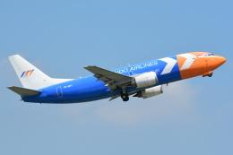 RUSSIANSKIさんが、シンガポール・チャンギ国際空港で撮影したマイ・インド・エアラインズ 737-3Z0(SF)の航空フォト(写真)