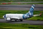 mojioさんが、羽田空港で撮影したBBJ One 737-7CJ BBJの航空フォト(飛行機 写真・画像)