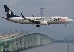 セブンさんが、関西国際空港で撮影した山東航空 737-86Nの航空フォト(飛行機 写真・画像)