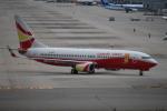 セブンさんが、関西国際空港で撮影した雲南祥鵬航空 737-808の航空フォト(飛行機 写真・画像)