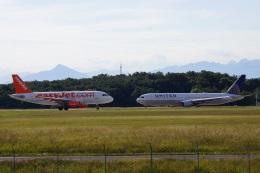 yusuke@HNDさんが、ジュネーヴ・コアントラン国際空港で撮影したイージージェット A319-111の航空フォト(飛行機 写真・画像)