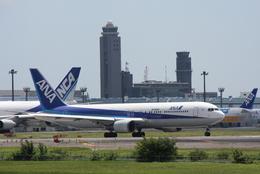 つねさんが、成田国際空港で撮影した全日空 767-381/ERの航空フォト(飛行機 写真・画像)