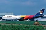 トロピカルさんが、成田国際空港で撮影したエア・パシフィック 747-123の航空フォト(写真)