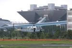 グリスさんが、東京臨海広域防災公園ヘリポートで撮影したアメリカ空軍 UH-1N Twin Hueyの航空フォト(写真)