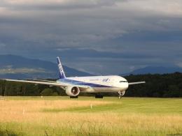 yusuke@HNDさんが、ジュネーヴ・コアントラン国際空港で撮影した全日空 777-381/ERの航空フォト(飛行機 写真・画像)