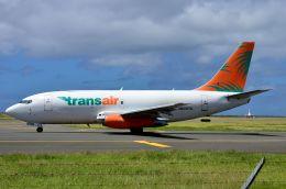 ちかぼーさんが、ダニエル・K・イノウエ国際空港で撮影したトランスエア 737-209/Adv(F)の航空フォト(飛行機 写真・画像)