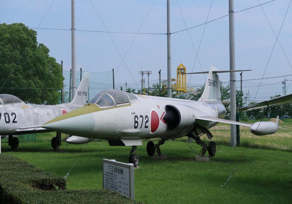 SHIKIさんの航空自衛隊 Mitsubishi F-104 (56-8672) 航空フォト