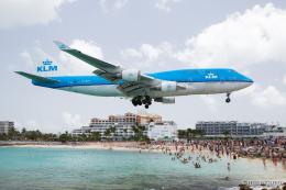 みなかもさんが、プリンセス・ジュリアナ国際空港で撮影したKLMオランダ航空 747-406Mの航空フォト(飛行機 写真・画像)