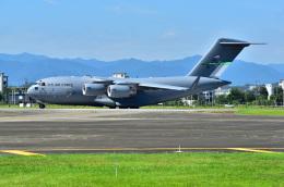 はるかのパパさんが、横田基地で撮影したアメリカ空軍 C-17A Globemaster IIIの航空フォト(飛行機 写真・画像)