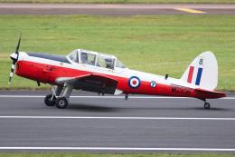 Tomo-Papaさんが、フェアフォード空軍基地で撮影したイギリス個人所有 DHC-1 Chipmunk T.10 (Mk 10)の航空フォト(飛行機 写真・画像)