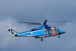 パンダさんが、花巻空港で撮影した宮城県警察 AW139の航空フォト(写真)