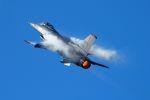 うめやしきさんが、三沢飛行場で撮影したアメリカ空軍 F-16CM-50-CF Fighting Falconの航空フォト(写真)