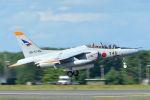 うめやしきさんが、三沢飛行場で撮影した航空自衛隊 T-4の航空フォト(写真)