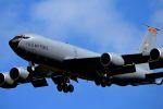 うめやしきさんが、三沢飛行場で撮影したアメリカ空軍 KC-135R Stratotanker (717-148)の航空フォト(飛行機 写真・画像)