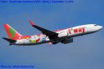 成田国際空港 - Narita International Airport [NRT/RJAA]で撮影されたティーウェイ航空 - T'way Airlines [TW/TWB]の航空機写真