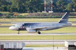 みなかもさんが、フィラデルフィア国際空港で撮影したスピリット航空 A319-132の航空フォト(飛行機 写真・画像)