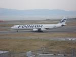 セブンさんが、関西国際空港で撮影したフィンエアー A340-313Xの航空フォト(飛行機 写真・画像)