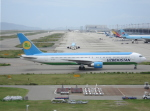 セブンさんが、関西国際空港で撮影したウズベキスタン航空 767-33P/ERの航空フォト(飛行機 写真・画像)
