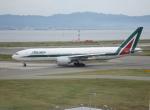 セブンさんが、関西国際空港で撮影したアリタリア航空 777-243/ERの航空フォト(飛行機 写真・画像)