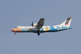 xingyeさんが、スワンナプーム国際空港で撮影したバンコクエアウェイズ ATR-72-500 (ATR-72-212A)の航空フォト(飛行機 写真・画像)