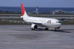 kumagorouさんが、那覇空港で撮影した日本航空 A300B4-622Rの航空フォト(写真)