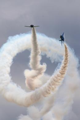 かみじょー。さんが、松島基地で撮影した航空自衛隊 T-4の航空フォト(飛行機 写真・画像)