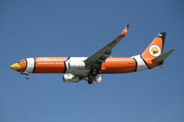 珈琲牛乳さんが、ドンムアン空港で撮影したノックエア 737-83Nの航空フォト(飛行機 写真・画像)
