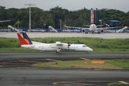 とりてつさんが、ニノイ・アキノ国際空港で撮影したパル・エクスプレス DHC-8-314Q Dash 8の航空フォト(飛行機 写真・画像)