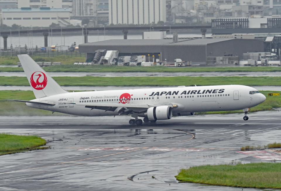 tsubasa0624さんの日本航空 Boeing 767-300 (JA614J) 航空フォト
