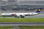 tsubasa0624さんが、羽田空港で撮影したルフトハンザドイツ航空 A340-642の航空フォト(飛行機 写真・画像)