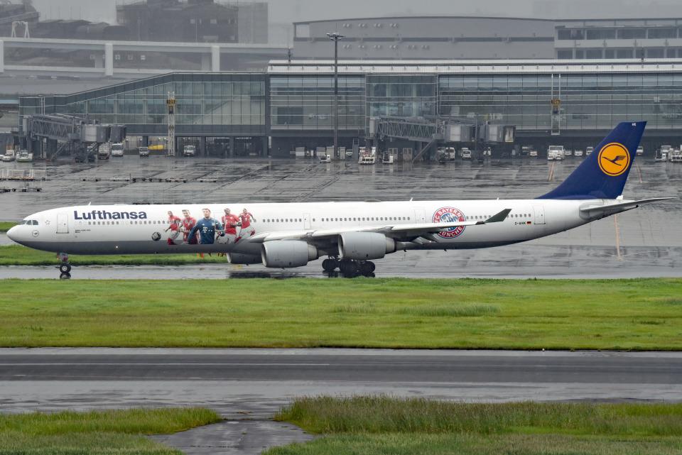 tsubasa0624さんのルフトハンザドイツ航空 Airbus A340-600 (D-AIHK) 航空フォト