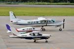 Dojalanaさんが、函館空港で撮影した学校法人ヒラタ学園 航空事業本部 208B Caravan Iの航空フォト(飛行機 写真・画像)