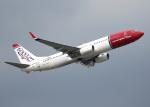 voyagerさんが、ロンドン・ガトウィック空港で撮影したノルウェー・エアシャトル 737-8Q8の航空フォト(飛行機 写真・画像)