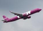 voyagerさんが、ロンドン・ガトウィック空港で撮影したWOWエア A321-211の航空フォト(写真)