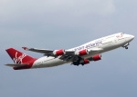 voyagerさんが、ロンドン・ガトウィック空港で撮影したヴァージン・アトランティック航空 747-443の航空フォト(写真)
