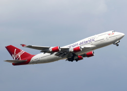voyagerさんが、ロンドン・ガトウィック空港で撮影したヴァージン・アトランティック航空 747-443の航空フォト(飛行機 写真・画像)