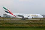 りんたろうさんが、ハンブルク・フィンケンヴェルダー空港 で撮影したエミレーツ航空 A380-861の航空フォト(写真)