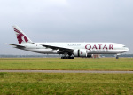 voyagerさんが、アムステルダム・スキポール国際空港で撮影したカタール航空カーゴ 777-FDZの航空フォト(飛行機 写真・画像)