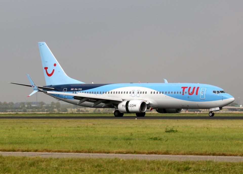 voyagerさんのTUIフライ・ネーデルランド Boeing 737-800 (PH-TFD) 航空フォト