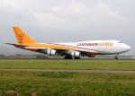 voyagerさんが、アムステルダム・スキポール国際空港で撮影したセンチュリオン・エアカーゴ 747-412(BDSF)の航空フォト(写真)