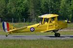 Echo-Kiloさんが、ラッペーンランタ空港で撮影した不明 DH.82A Tiger Mothの航空フォト(写真)