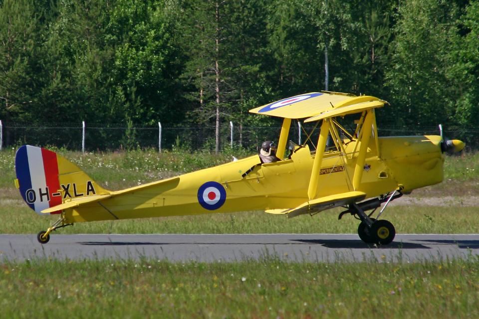 Echo-Kiloさんの不明 De Havilland DH.82 Tiger Moth (OH-XLA) 航空フォト